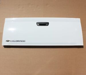04 12 Chevy Colorado Gm Tailgate Pickup Truck Oem New Take Off Factory White