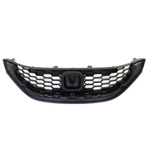 Capa 13 14 15 Civic Sedan Front Grill Grille Textured Ho1200216 71121tr3a01