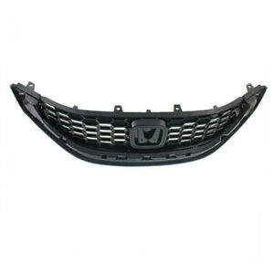 Capa New 13 14 Civic Sedan Front Face Bar Grill Grille Ho1200218 71121tr3a11