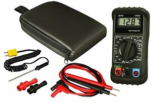 Gtc Ct8025 Automotive Digital Multimeter With Carry Case