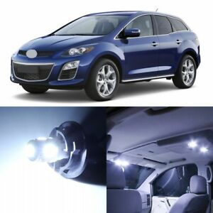 10 X Xenon White Interior Led Lights Package For 2007 2012 Mazda Cx 7 Cx7 Tool