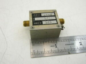 Microwave Power Amplifier 100 900 Mhz 5dbm 15db Tested