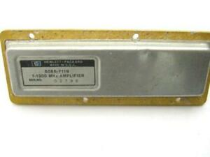 Hp agilent Microwave Rf Power Amplifier 1 1300 Mhz Sma 5086 7119