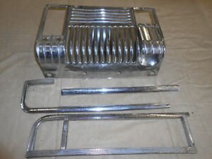 1948 Plymouth 2 Door Coupe Deluxe Dash Trim With Ash Tray Com Lete Set