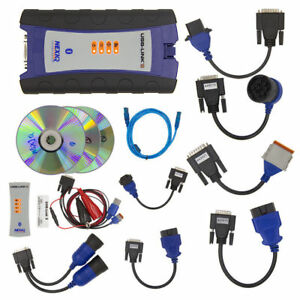 For Diesel Heavy Duty Truck Diagnostic Tool With Bluetooth Software Full Set