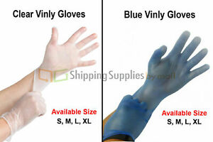 Vinyl Disposable Gloves Powder Free non Latex Nitrile Exam S M L And Xl