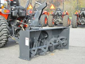 New Mk Martin Meteor Snow Blower 60 Pto Drive 3 Point Hitch Manual Spout