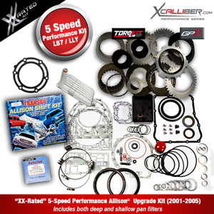 29545311 Xx Performance Rebuild Kit For Allison Trans W Gpz Gm Duramax 5 Spd