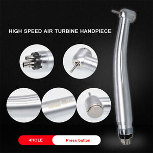 Hot Nsk Style Dental Ultrasonic Air Scaler Handpiece 4 Holes With Tips G1 G2 G4