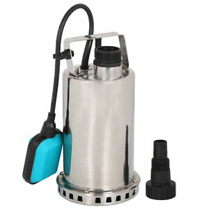 3000gph 1hp Submersible Pump 750w Dirty Water Sump W automatic Float Switch