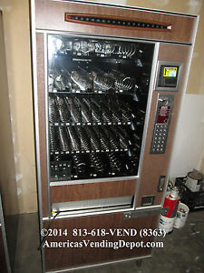 Ap 5500 33 Selection Snack Machine W Gum mint local Delivery 30 Day Warranty 7