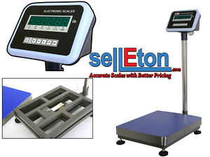 Selletonz B 16 X 20 Industrial Shipping Postal Warehouse Scale 600lbsx0 02lb