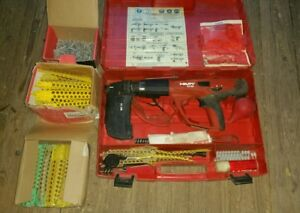 Hilti Dx 460 Powder Actuated Nail Gun Mx 72 Case