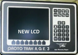 Reduced Price New Lcd Upgrade Kit For 9 inch Prototrak Age 2 3 Crt