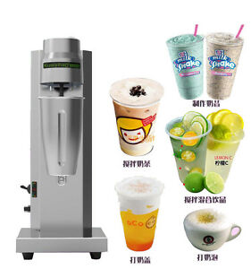 Single Head Milkshake Machine Soft Ice Cream High Speed Mixer Commercial 220v Y