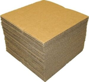 100 400 Lp Corrugated Protective Sheets Record Mailer Packaging Insert Pads