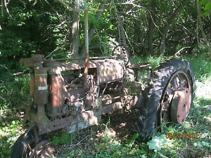 Mccormick Deering F 12 Farmall Tractor With Sickle Mower