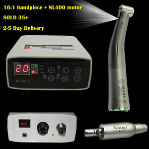 Nsk Kavo Dental Electric Micro Motor 16 1 Fiber Optic Handpiece Contra Angle
