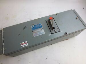 Challenger Electric Qmqb1036r Panel Switch 600v 100a 3 Pole