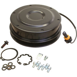 Re58348 Compressor Clutch With Pulley For 4560 4760 4955 4960 8770 Tractors