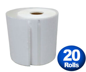 Dymo 4xl Direct Thermal Shipping Labels 4x6 20 Jumbo Rolls 1744907 Compatible