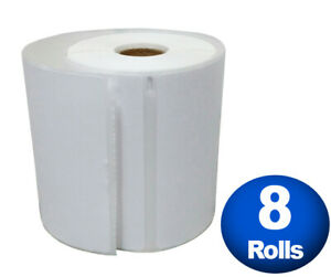 Dymo 4xl Direct Thermal Shipping Labels 4x6 8 Jumbo Rolls 1744907 Compatible