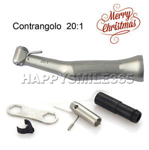 Dental Implant Sg20 Reduction 20 1 Low Speed Contra Angle Surgical Handpiece Hot