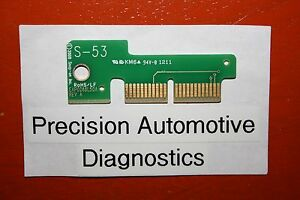 S 53 Personality Key For Snap on Scan Tool Mt2500 Mtg2500 Modis Solus Pro Verus