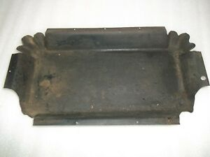 Antique White Early Vs Treadle Sewing Machine Oil Drip Pan