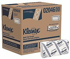 Kleenex Multifold Paper Towels White 9 2x9 4 In 8 150 count Packs Per Case