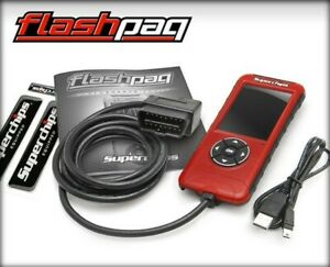 Superchips Flashpaq F5 Tuner For 99 15 Silverado Sierra 1500 2500 3500 Gas 2845