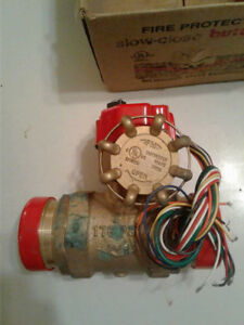 Butterball Fire Sprinkler System Slow Close Indicating Butterfly Valve