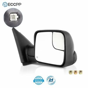 Passenger Side For 2002 2008 Dodge Ram 1500 2500 3500 Power Heated Tow Mirror