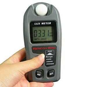 Leaton Digital Luxmeter Illuminance Light Meter Lux Meter With Lcd