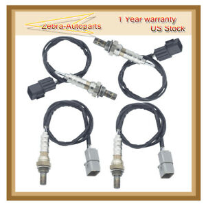 4x Oxygen 02 O2 Sensor For Kia Sorento 2003 2004 2005 2006 Upstream downstream