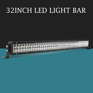 Cree 792w 30inch Len Led Work Light Bar Combo Offroad Truck Suv Jeep Ford 29 32