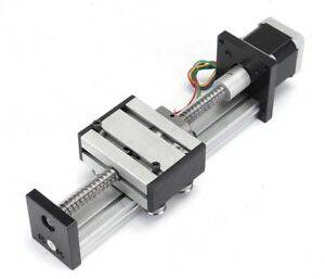 New Stage Actuator 1204 Ball Screw Linear Slide Stroke With 42mm Stepper Motor