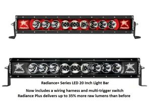 Rigid Industries Radiance Plus With Red Back Light Led 20 Light Bar