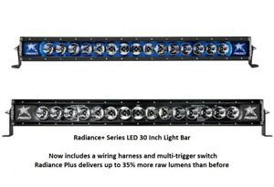 Rigid Industries Radiance Plus With Blue Back Light Led 30 Light Bar