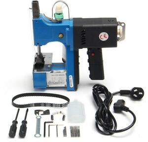 Electric Seal Ring Sewing Machine High Speed Woven Bag Hand Tool 220v 180w