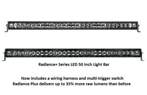 Rigid Industries Radiance Plus With White Back Light Led 50 Light Bar