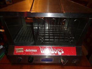 Star 35ss Commercial Hot Dog Steamer Bun Warmer Electric Works Great