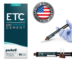 Parkell E t c Easy Temporary Cement 5ml Automix Syringe 10 Tips