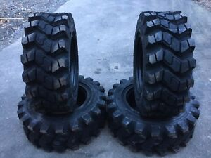 4 Hd Camso Sks753 12 16 5 Skid Steer Tires For John Deere New Holland 12x16 5