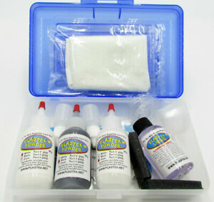 Plastex Plastic Repair Kits Master Tech Kit White Black Clear Part 2006