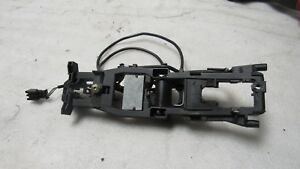 03 09 Mercedes W211 E63 Front Left Driver S Door Handle Frame With Wires Oem5616