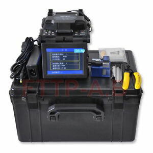 New Ftth Tools Fiber Optic Splicing Machine fusion Splicer Kit fiber Cleaver