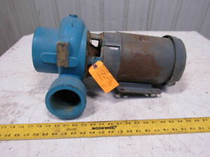 Paco 3050 5 2hp Centrifugal Pump 383gpm 15 5 Thd 4 Inlet 3 Outlet 230 460v 3ph