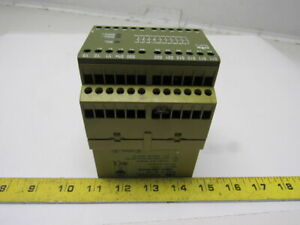 Pilz Pnoz 10 6s 40 Safety Relay Module 120v