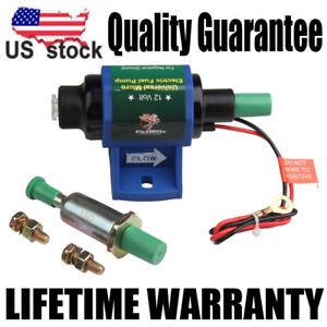Super Universal Micro Electric Fuel Transfer Diesel Pump 35 Gph 4 7psi 12v
